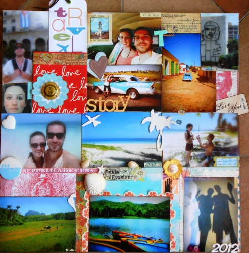 Cuba, Home Deco, Exposition, Scrapbooking